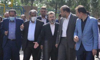 بازدید دکتر جمالی پور استاندار قزوین از کارخانه مکرر + تصاویر